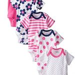Gerber-Baby-Girls-Variety-Onesies-Brand-Bodysuits-Flowers-0-3-Months-Pack-of-5-0