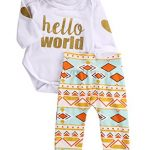 Newborn-Baby-Girls-Top-RompersFloral-Pants-Leggings-Headband-3pcs-Outfits-Set-0-3-Months-Golden-Hello-World-0