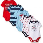 Nautica-Baby-Boys-Newborn-Five-Pack-Bodysuits-Red-0-3-Months-0