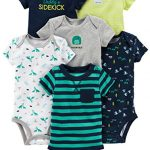 Simple-Joys-by-Carters-Baby-Boys-6-Pack-Short-Sleeve-Bodysuit-NavyTurquoise-3-6-Months-0