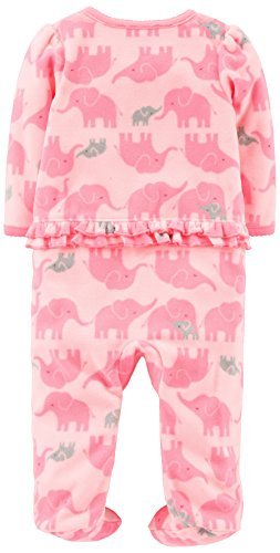 94fdf22be Simple Joys by Carter s Baby Girls  2-Pack Fleece Footed Sleep and ...
